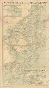 Waxholmsbolagets Skargardskarta