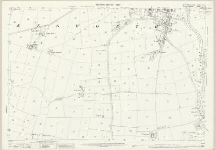 Nottinghamshire XLIX.6 (includes: Kegworth; Kingston On Soar; Long Whatton; Sutton Bonington) - 25 Inch Map