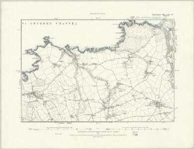 Pembrokeshire VIII.SW - OS Six-Inch Map