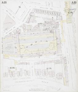 Insurance Plan of London Western District Vol. A: sheet 21