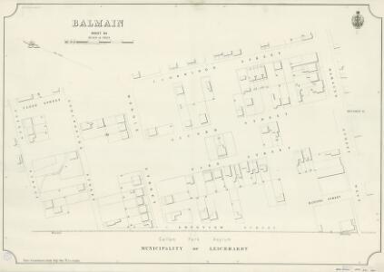 Balmain, Sheet 64, 1890