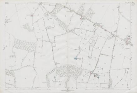 Wiltshire XXIV.10 (includes: Baydon; Lambourn; Ramsbury) - 25 Inch Map