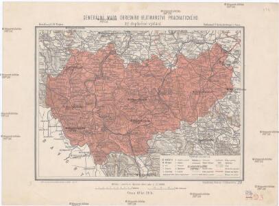 Generální mapa okresního hejtmanství Prachatického