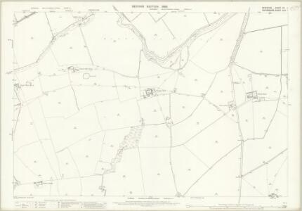 Berkshire VIII.1 (includes: Eaton Hastings; Grafton and Radcot; Great Faringdon; Kelmscot) - 25 Inch Map