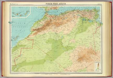 North-west Africa.