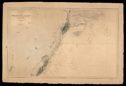 Desde Alcocebre hasta el cabo de Tortosa / según los trabajos hechos en los años de 1878 a 1880 por la Comision Hidrográfica al mando del capitan de fragata D. Rafael Pardo de Figueroa