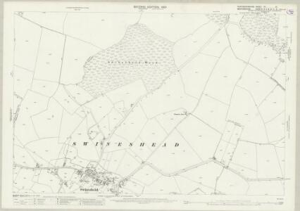 Huntingdonshire XX.10 (includes: Dean and Shelton; Kimbolton; Melchbourne and Yelden; Pertenhall; Swineshead; Tilbrook) - 25 Inch Map
