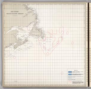 Ice Chart, Grand Banks Region, October.