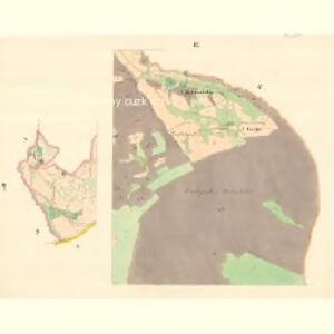 Kozlowitz - m1320-1-008 - Kaiserpflichtexemplar der Landkarten des stabilen Katasters