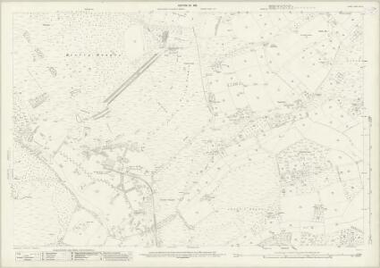 Surrey XVI.10 (includes: Bisley; Chobham; Pirbright; Woking) - 25 Inch Map