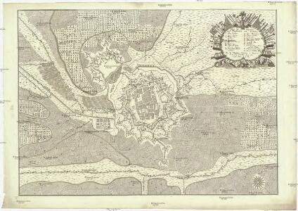 Plan der Situation und Fortification von Landau