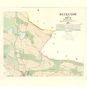 Wellenow - c8360-1-003 - Kaiserpflichtexemplar der Landkarten des stabilen Katasters