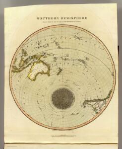S. Hemisphere, plane of London.