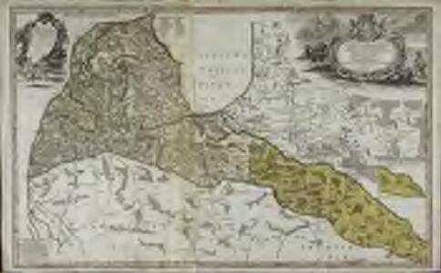 Dvcatvs Cvrlandiæ jux.ta Barnikelii architecti curici primarii geometricam delineationem geographica tabula expressus