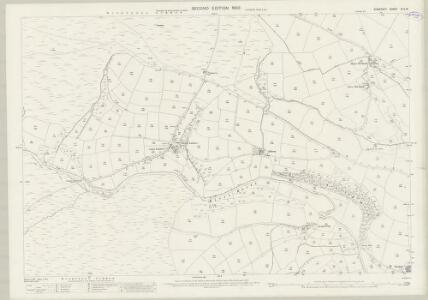 Somerset XLV.15 (includes: Exford; Withypool) - 25 Inch Map