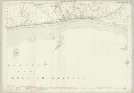 Cornwall LXXIV.3 (includes: Ludgvan) - 25 Inch Map