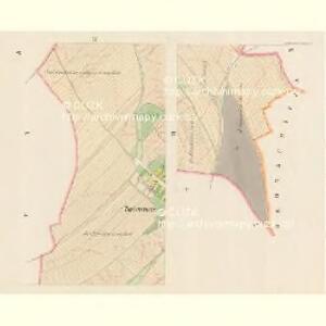 Scherowitz (Žerowic) - c9418-1-003 - Kaiserpflichtexemplar der Landkarten des stabilen Katasters