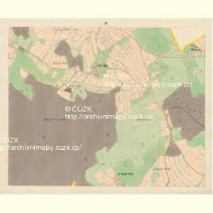 Trzitesch - c6467-2-004 - Kaiserpflichtexemplar der Landkarten des stabilen Katasters