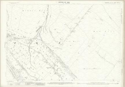 Yorkshire XCVIII.14 (includes: Hawkswick; Kettlewell With Starbotton; Litton) - 25 Inch Map