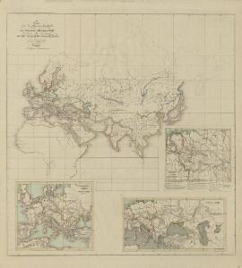 IV. Charte für die allgemeine Geschichte von Augustus Alleinherrschaft bis auf den Untergang des weströmischen Reichs : d.i. von 30 v. Chr. bis 476 nach Christus