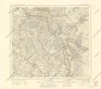 Karte des westlichen Russlands S16