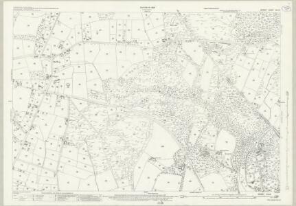 Dorset XLIII.2 (includes: Corfe Mullen; Lytchett Matravers; Lytchett Minster; Sturminster Marshall) - 25 Inch Map