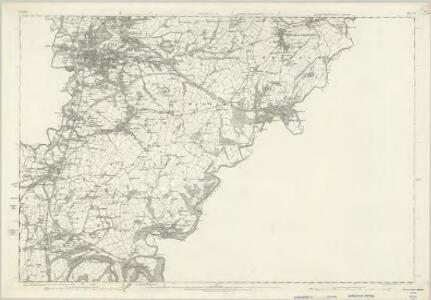 Cheshire X - OS Six-Inch Map
