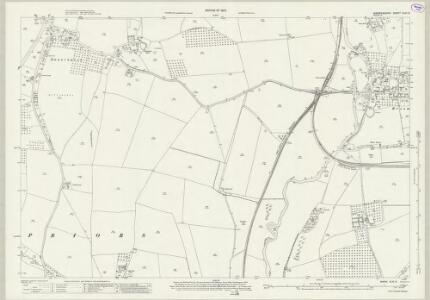 Warwickshire XLIII.9 (includes: Bidford on Avon; Salford Priors; Wixford) - 25 Inch Map