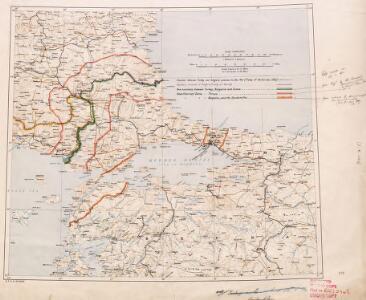 Demilitarized zones in north-west Turkey