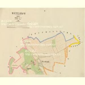 Matzelbach - c4521-2-001 - Kaiserpflichtexemplar der Landkarten des stabilen Katasters
