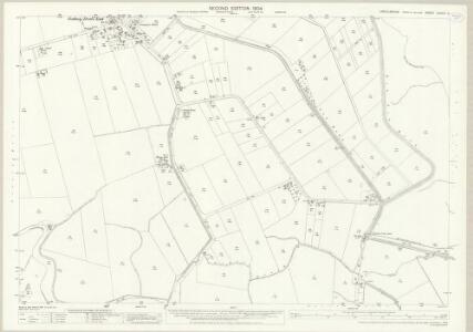 Lincolnshire CXXXVI.3 (includes: Gedney; Lutton) - 25 Inch Map