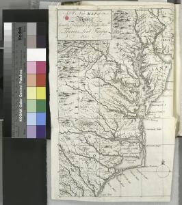 A New map of Virginia.; The history of the British plantations in America. With a chronological account of the most remarkable things, which happen'd to the first adventurers in their several discoveries of that new world. Part I. Containing The history of Virginia; with remarks on the trade and commerce of that colony ...