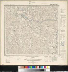 Meßtischblatt 6943 : Viechtach, 1942