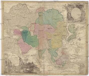 Asia cum omnibus imperiis, provinciis, statibus et insulis