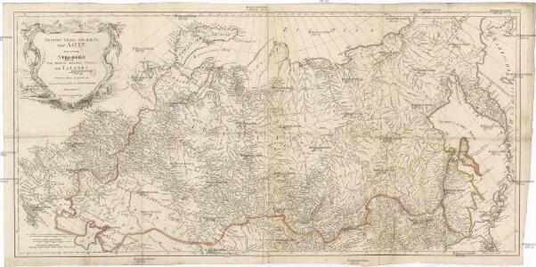 Dritter Theil der Karte von Asien