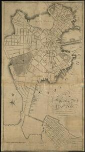 A new plan of Boston drawn from the best authorities with the latest improvements, additions, and corrections