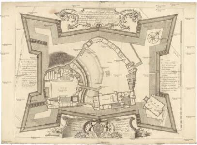 A plan of the castle of Chester