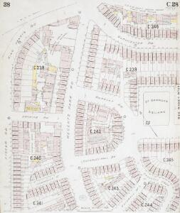Insurance Plan of London North West District Vol. C: sheet 28