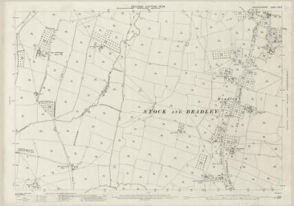 Worcestershire XXX.5 (includes: Feckenham; Hanbury; Stock and Bradley) - 25 Inch Map
