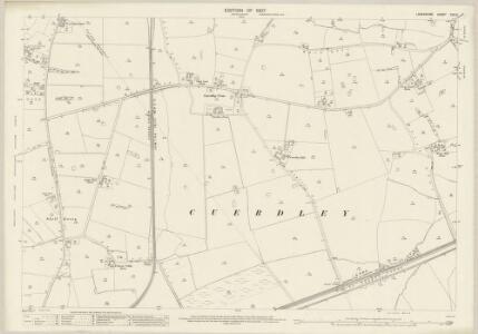 Lancashire CXV.6 (includes: Cuerdley; Widnes) - 25 Inch Map
