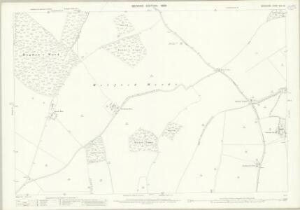 Berkshire XXVI.15 (includes: Boxford; Chaddleworth; Leckhampstead; Welford) - 25 Inch Map