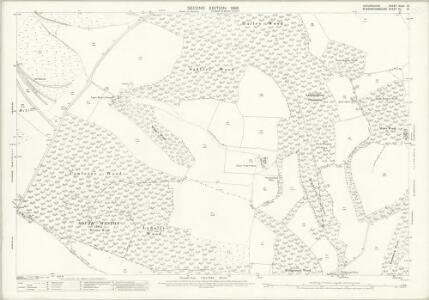 Oxfordshire XLVII.12 (includes: Lewknor; Shirburn; Stokenchurch) - 25 Inch Map