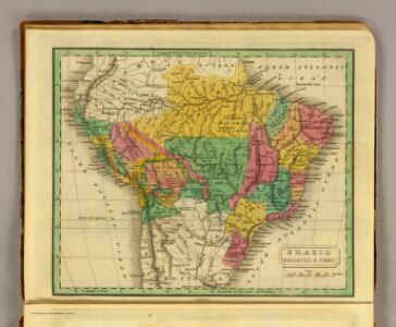 Brazil, Bolivia, Peru.