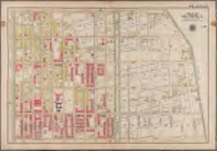 Plate 25: [Bounded by Rochester Avenue, East New York Avenue, Kingston Avenue and Atlantic Avenue.]; Atlas of the borough of Brooklyn, city of New York: from actual surveys and official plans by George W. and Walter S. Bromley.