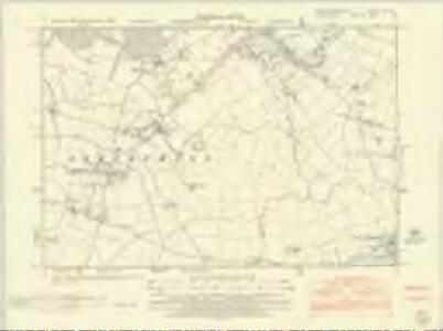 Huntingdonshire XX.SE - OS Six-Inch Map