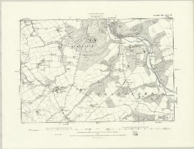 Devonshire XLII.SW - OS Six-Inch Map