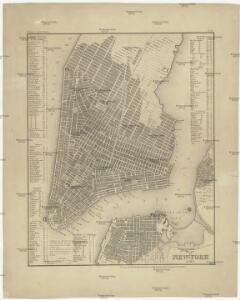 Plan von New York