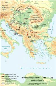 Südosteuropa 1699 – 1718 – 1739