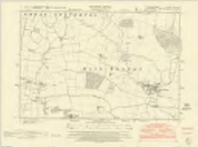 Huntingdonshire XXV.NW - OS Six-Inch Map