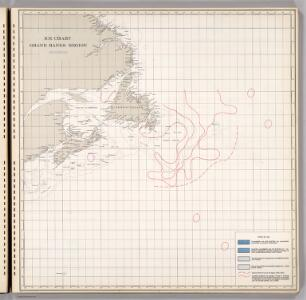Ice Chart, Grand Banks Region, September.